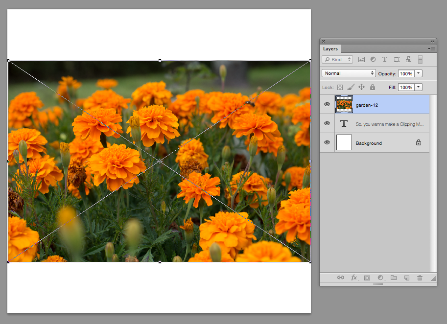 photoshop how to create clipping mask