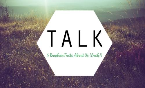 honeyandgazelle-talk-5-random-facts-header